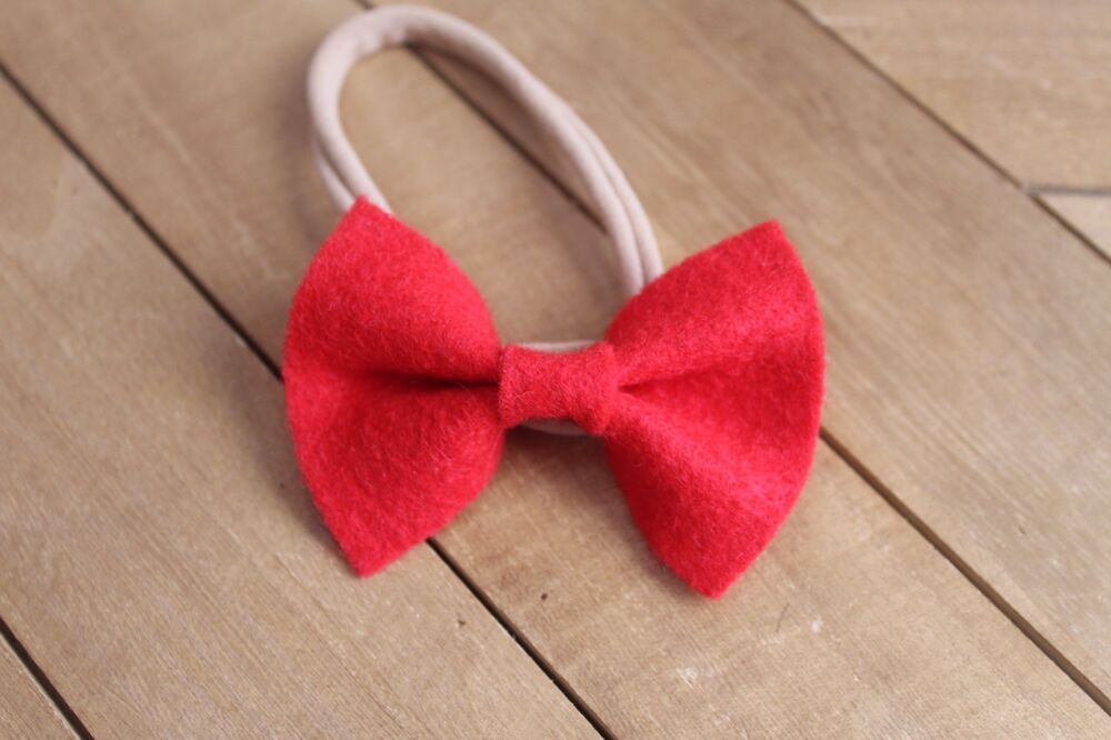 Hot Pink with White Polka Dot Hair//Shoe Bow Great for our Clip On Squeaky Shoes
