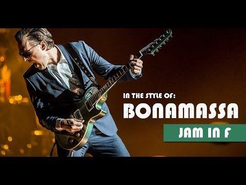 Joe Bonamassa Style Slow Blues Backing Track Jam in F
