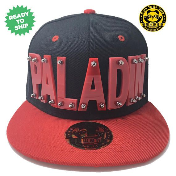 a78dab4de Paladin Voltron Arcylic Snapback Hat with red brim in red | Men of ...