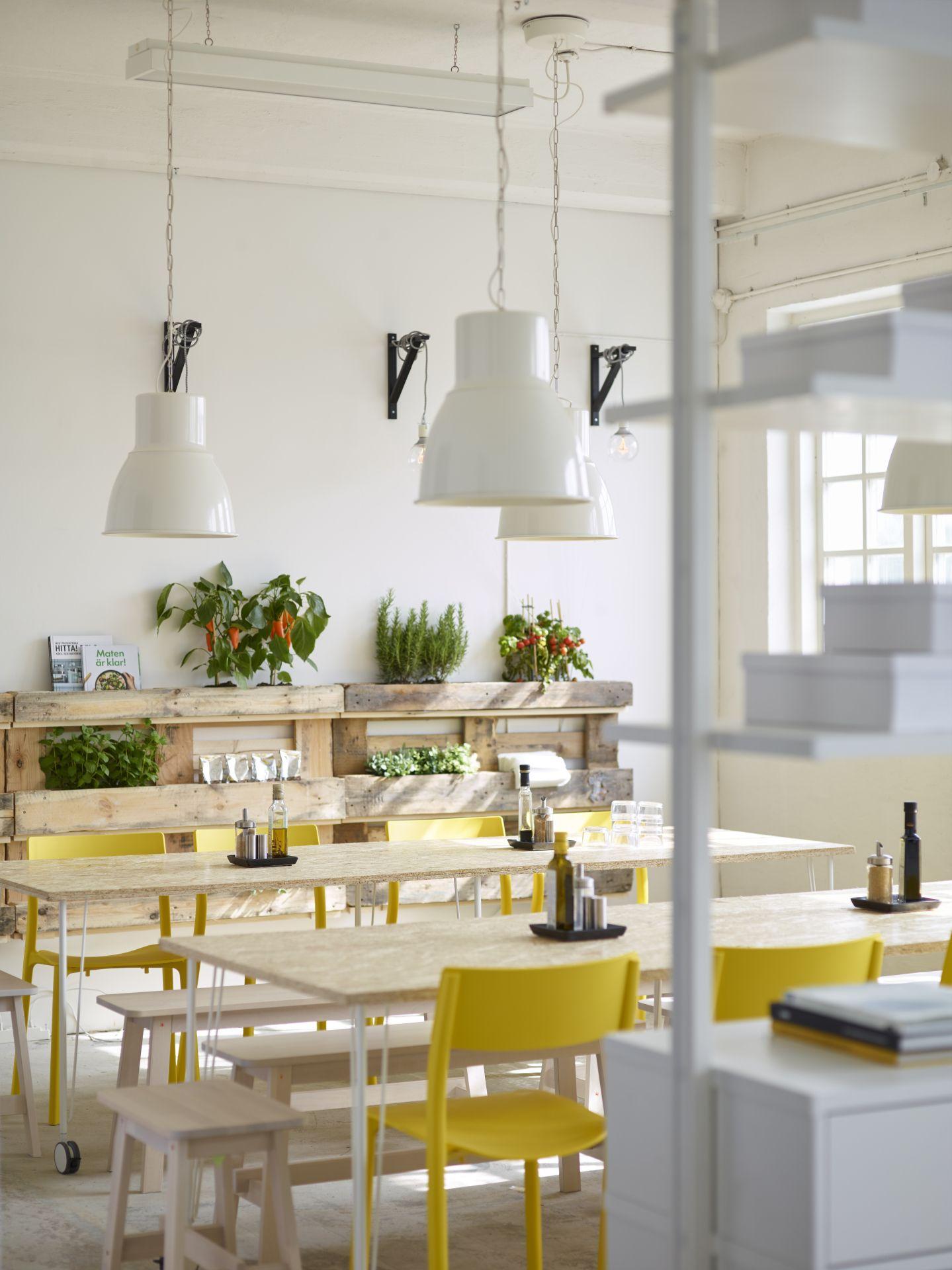 HEKTAR Hanglamp, wit | Verlichting | Pinterest | Catalog, Dining and ...