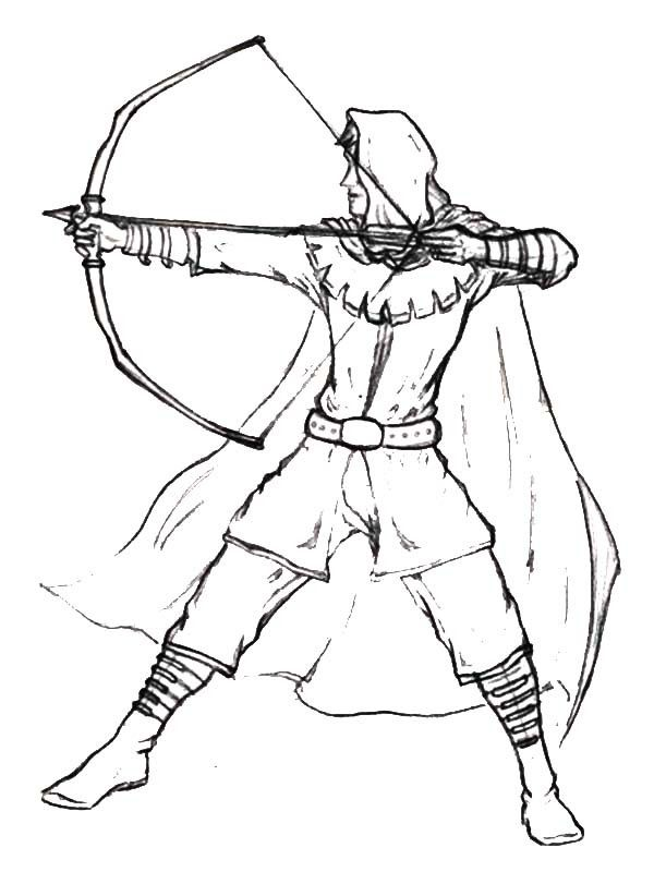 robin hood coloring pages robin hood coloring pages | Awesome Robin Hood Coloring Pages  robin hood coloring pages