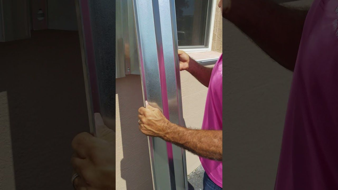 How to install hurricane shutters part 2 Shutters