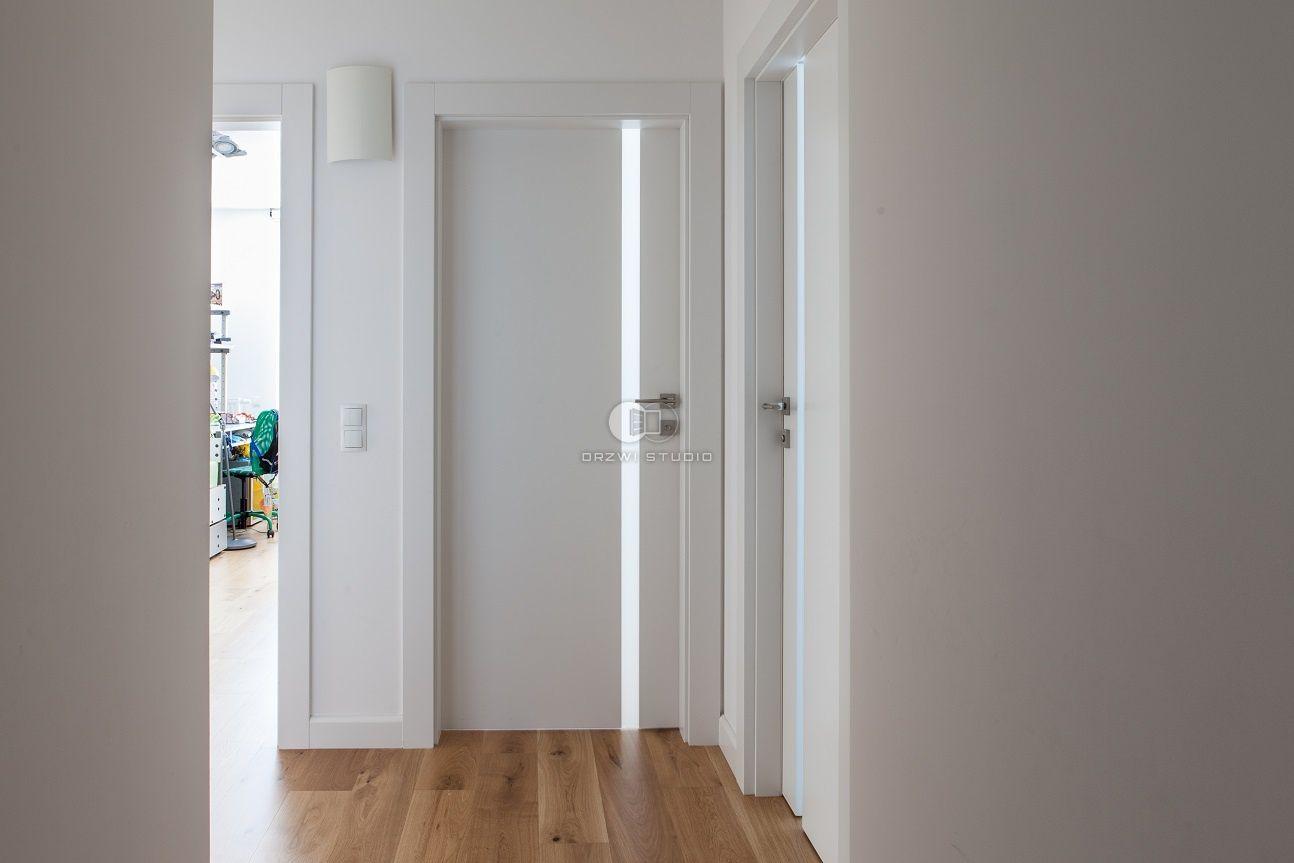 Drzwi Vertical Z Szybą Mleczną Ral 9003 Drzwi W 2019