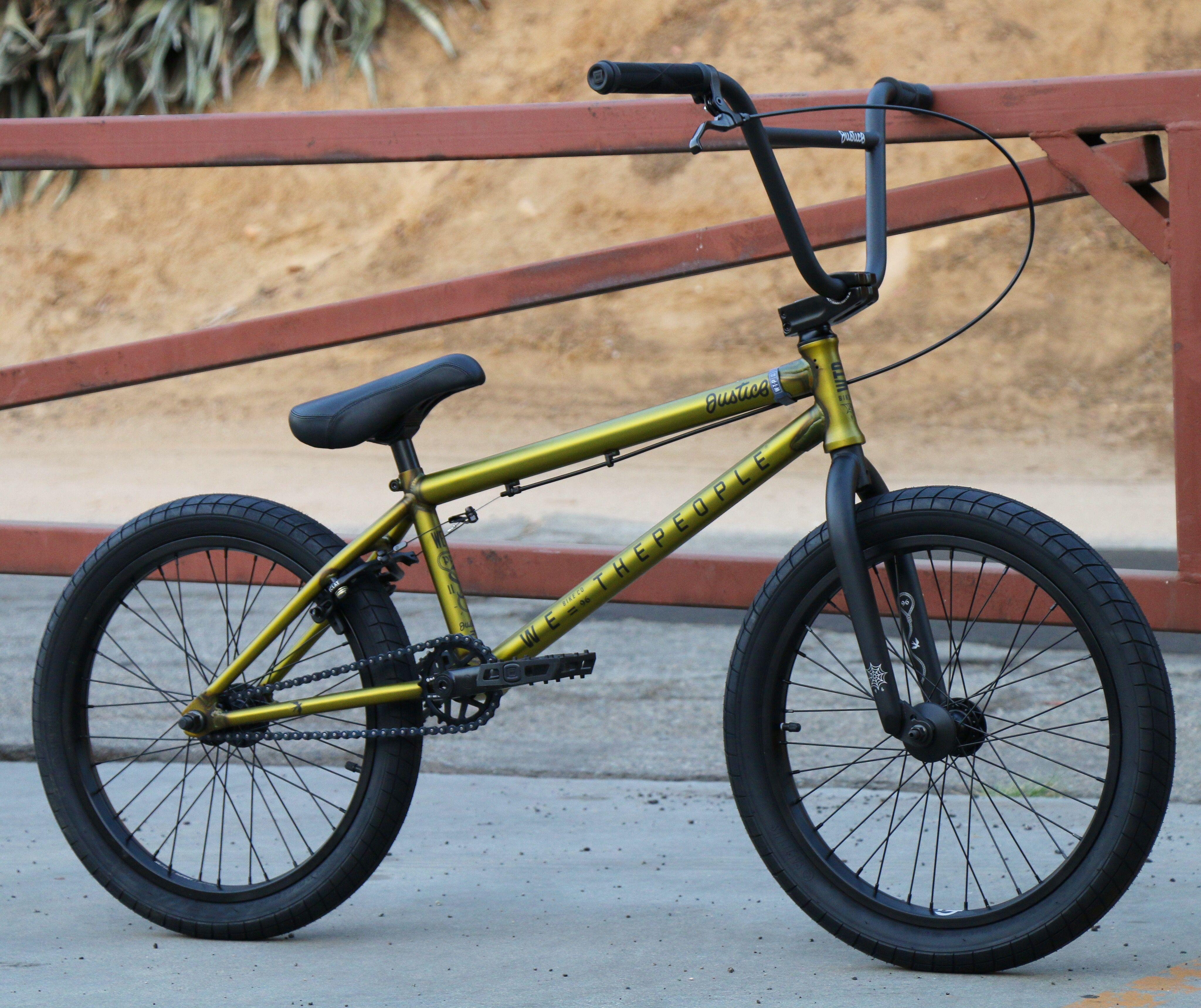 2019 We The People Justice Bike Trans Gold Bmx Bikes We The People Bmx Bmx Shop