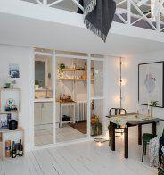 Une cuisine semi ouverte avec un passe-plat | Decoration and House