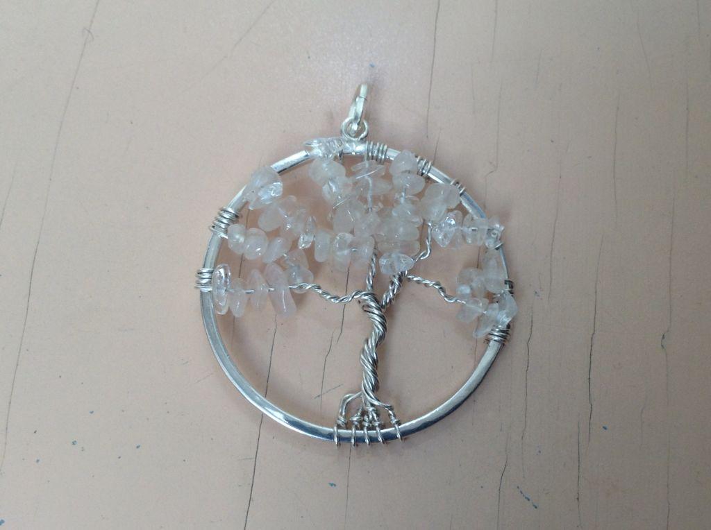 Sterling zilver met oa rozenkwarts