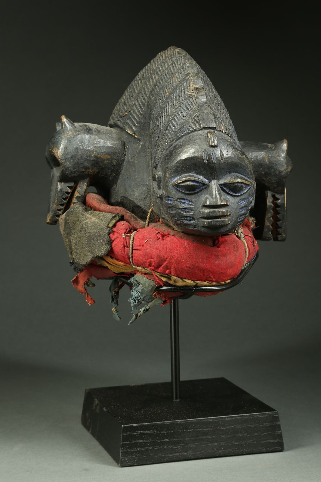 Yoruba Egungun Headdress Nigeria We wear the Masks Pinterest