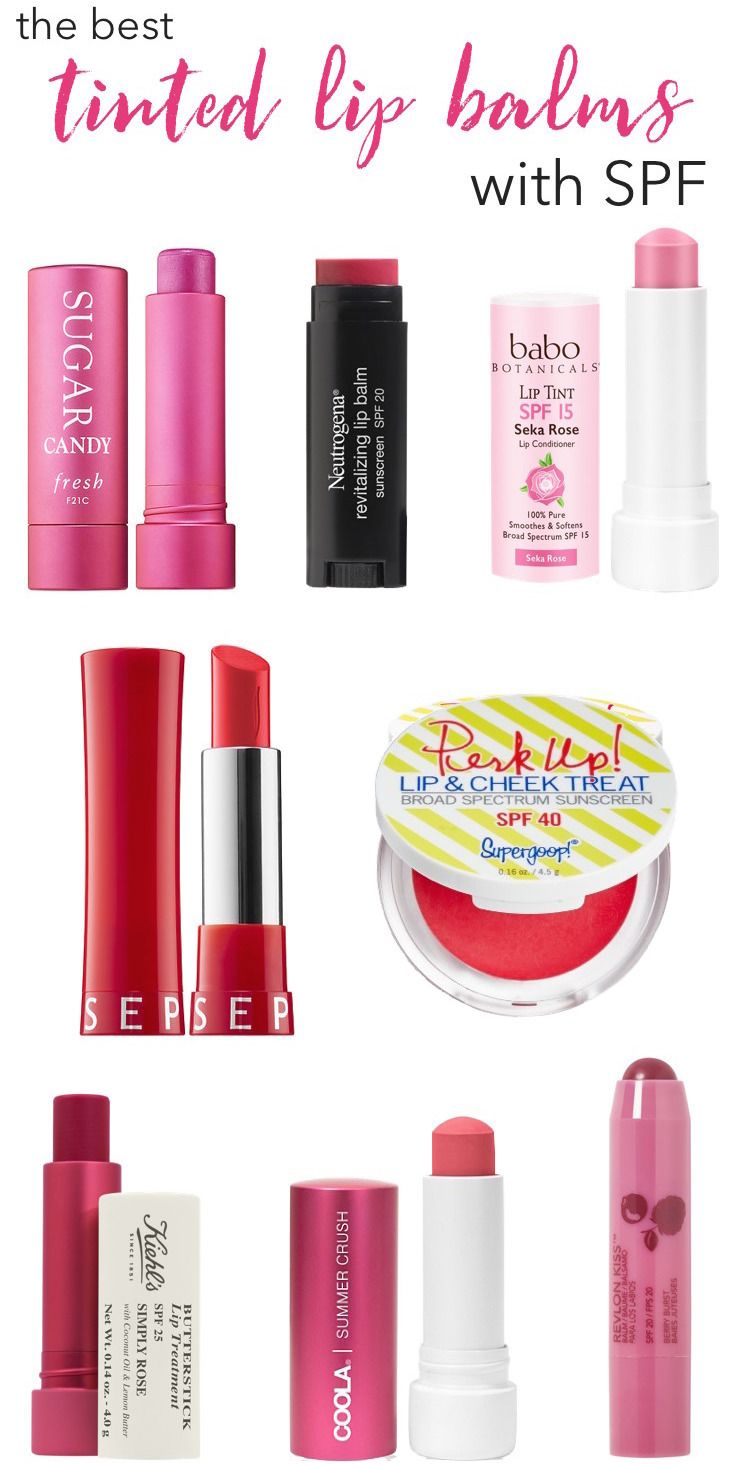 How To Colour Your Lip Balm Kiehls Baby Protect Perfect The Best Tinted Balms With Spf Beauty