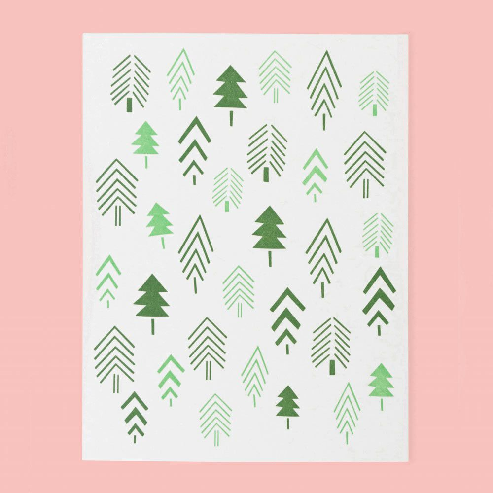 12 Modern Holiday Cards | Twins, Christmas greeting cards and Holidays