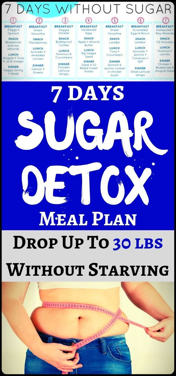 #fitness #health #weight #sugar #detox #lose #with #this #menu #plan #lbs #day #and #up #toLose Weig...
