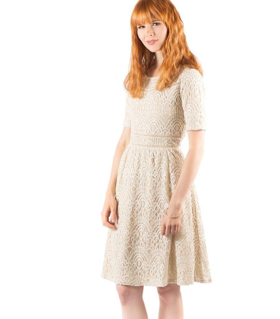 ce15bbeb85 White Cotton Lace Dresses Online