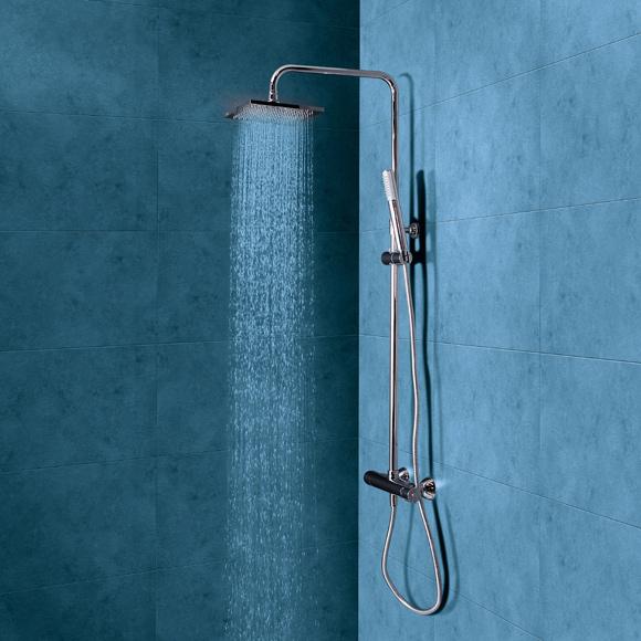 Conjunto de ducha para baños principales con grifería termostática ...