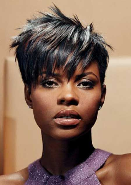 Messy Short Hairstyle Short Black Haircuts Short Sassy Hair Sassy Hair
