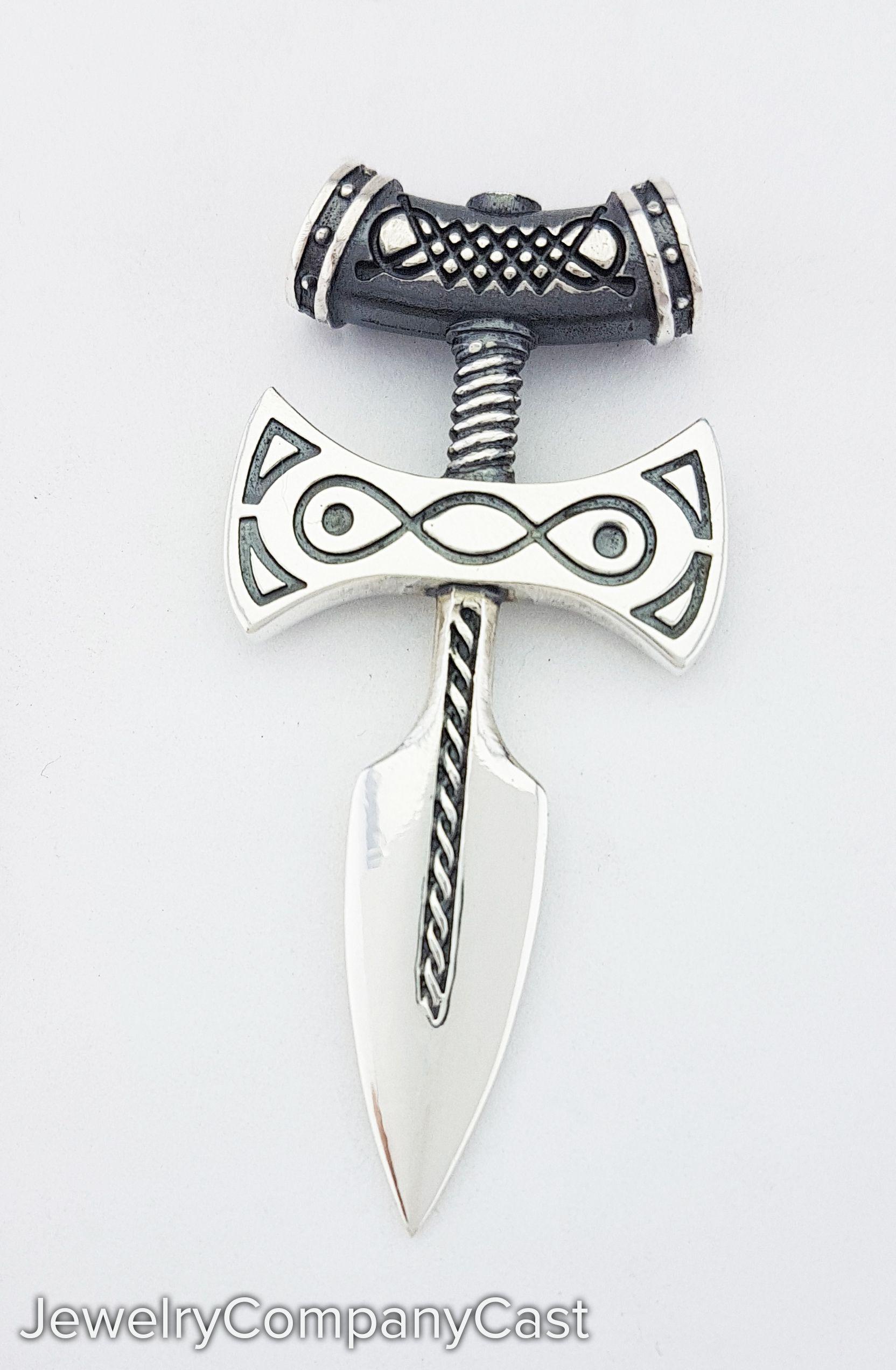 Amulet Of Talos amulet of talos silver 925 pendant, dovakin amulets 925