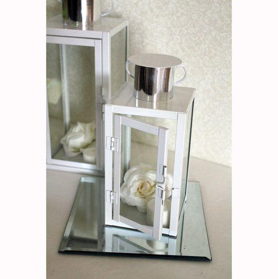12 Lanterns Discounted! (5 Large & 7 Small). Wedding Table Centerpieces. Centerpiece Ideas. Wedding Decor Candle Holder.