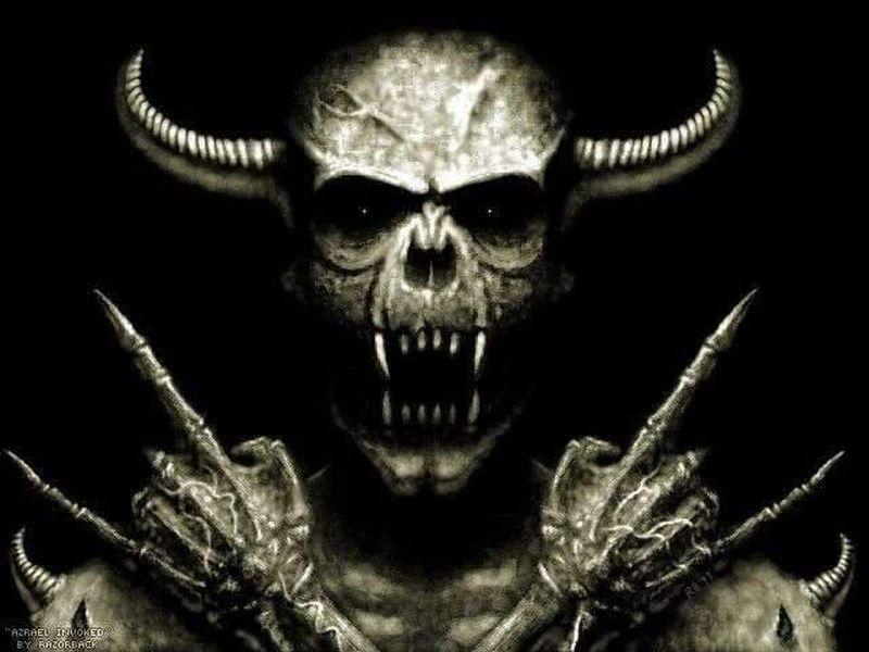 Wallpapers Skulls Dark Evil 800x600 57972 Skulls