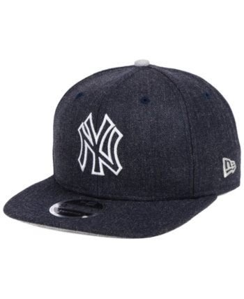 check out dd81e 75a66 New Era New York Yankees Heather Hype 9FIFTY Snapback Cap - Blue Adjustable