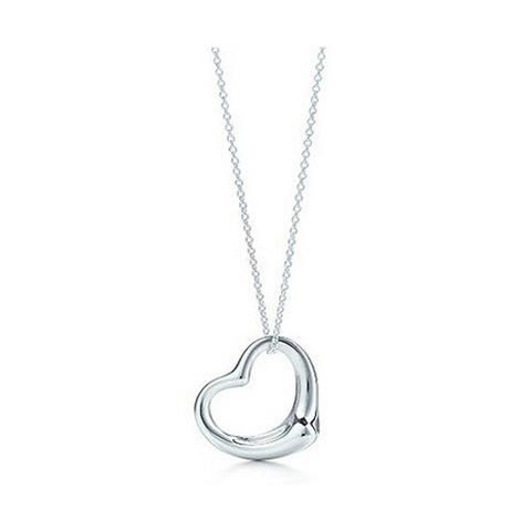 Silver Heart Love Connection Pendant