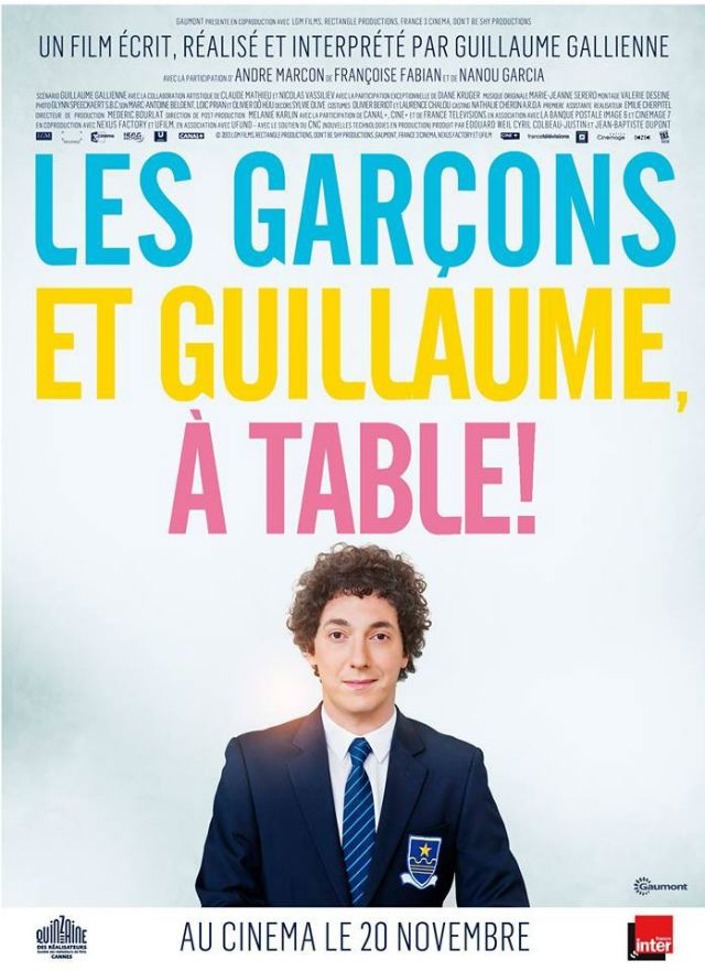 Les Garcons Et Guillaume A Table Guillaume Gallienne Film Cinema