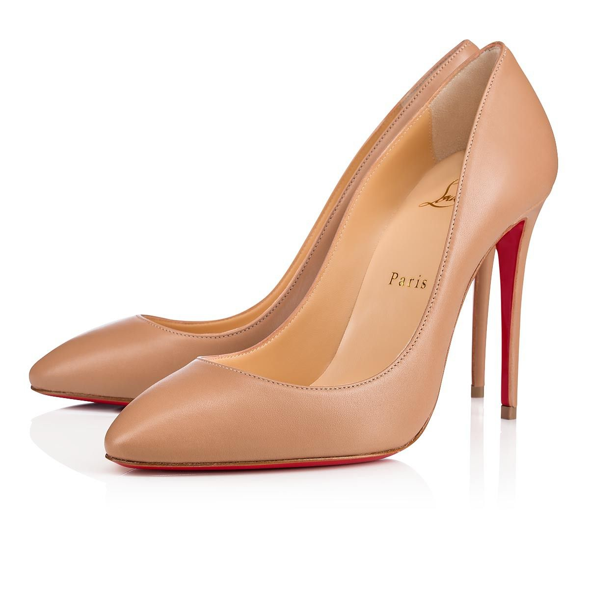 caa2c271392c Christian Louboutin United States Official Online Boutique - Eloise 100  Nude Leather available online. Discover more Women Shoes by Christian  Louboutin