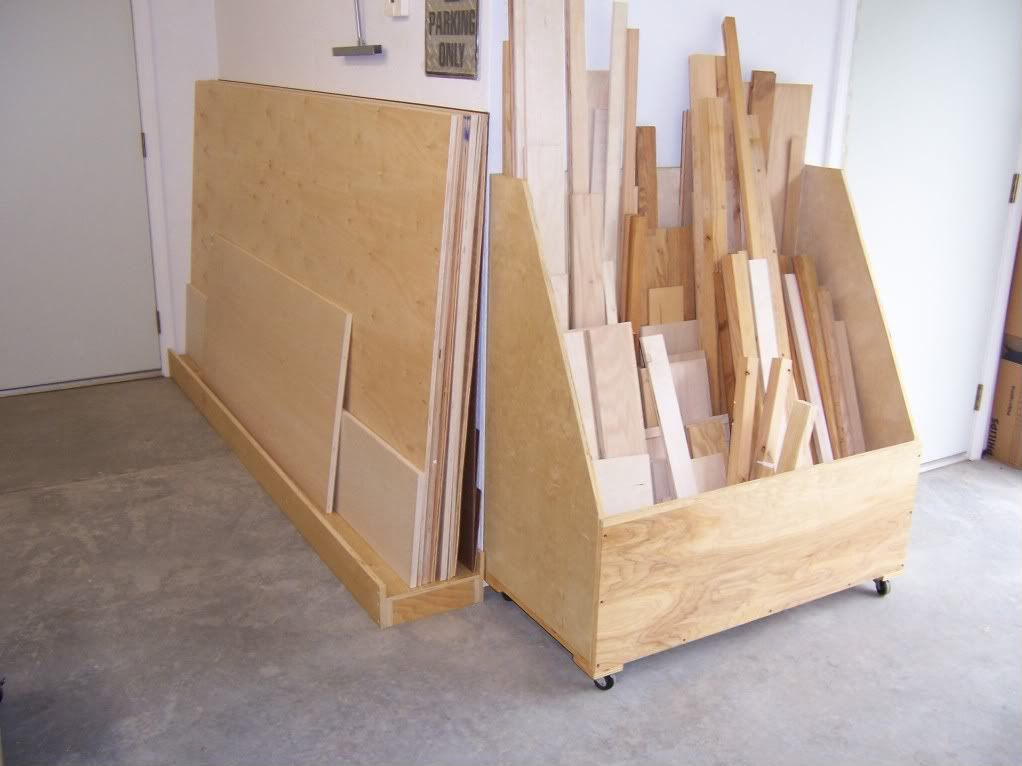 A Place To Store My Wood Plywood Storage Lumber Storage Lumber Storage Rack