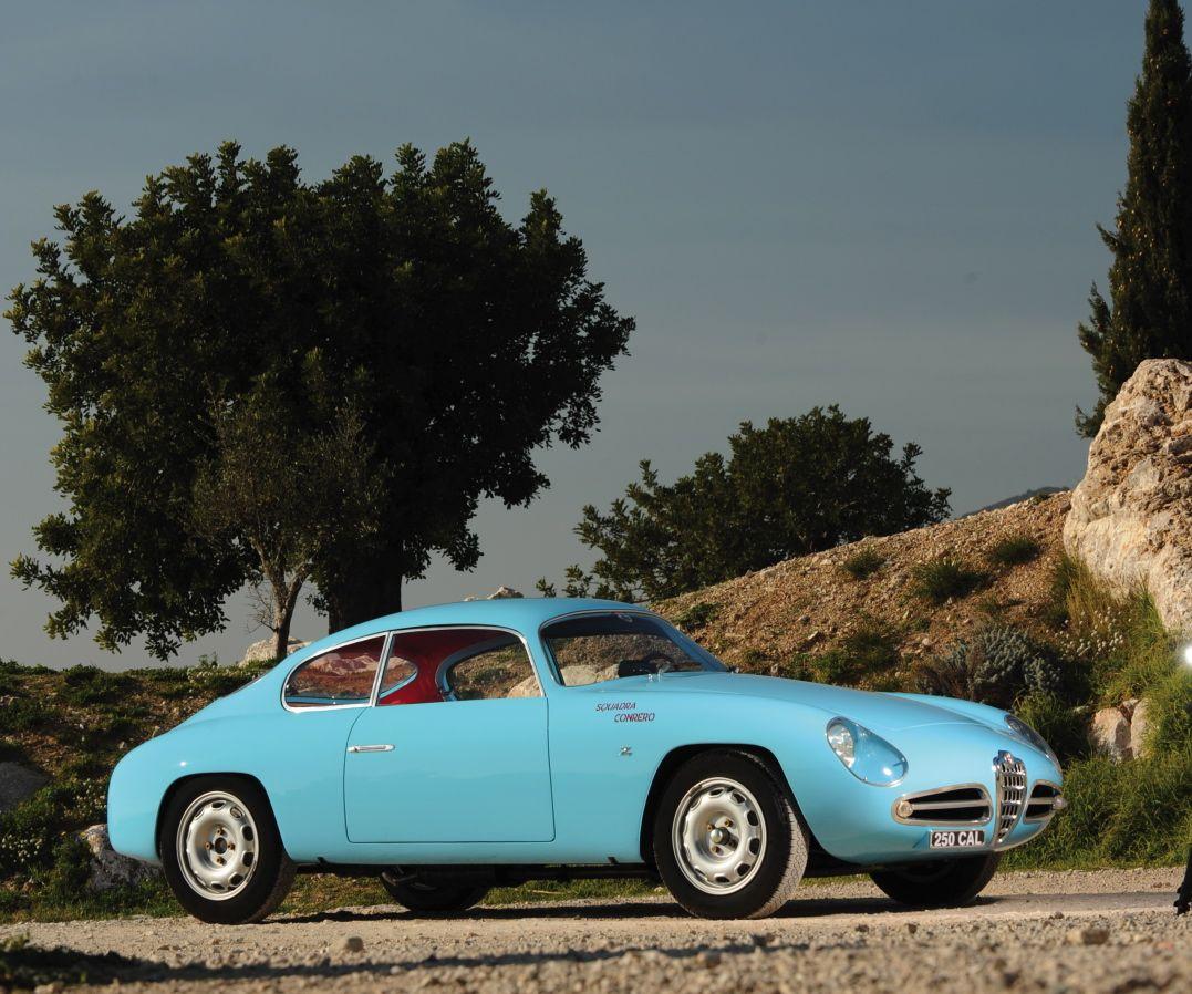 1958 Alfa Romeo Giulietta Sprint Veloce Zagato. Look At