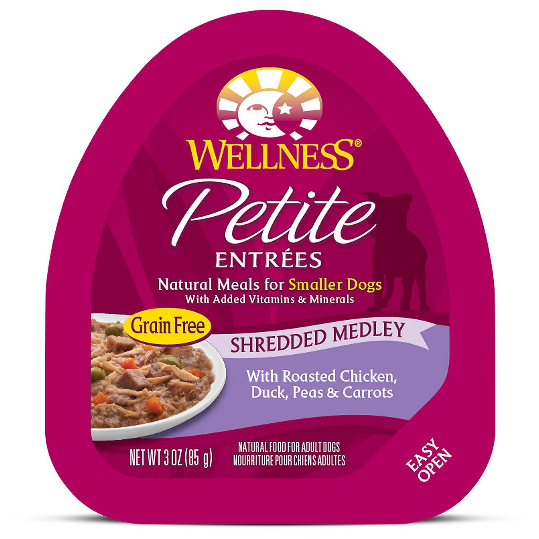 Wellness Petite Entrees Shredded Medley Grain Free Roasted Chicken