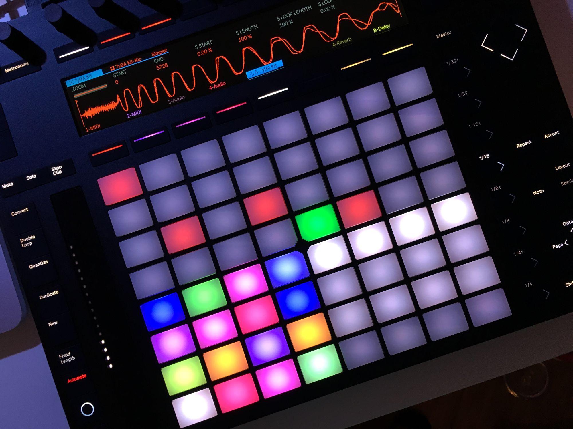 Ableton + Push v2 Games, Music, Beauty