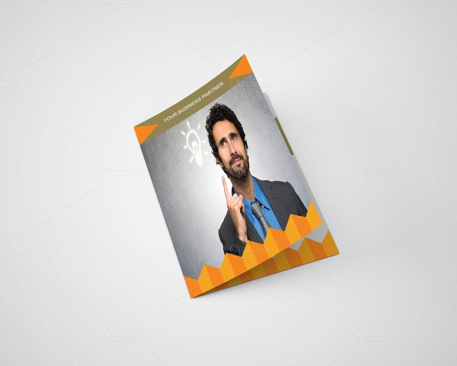 Itu0027s a Rannie Corporate Bi Fold Brochure Template Design for any - event brochure template