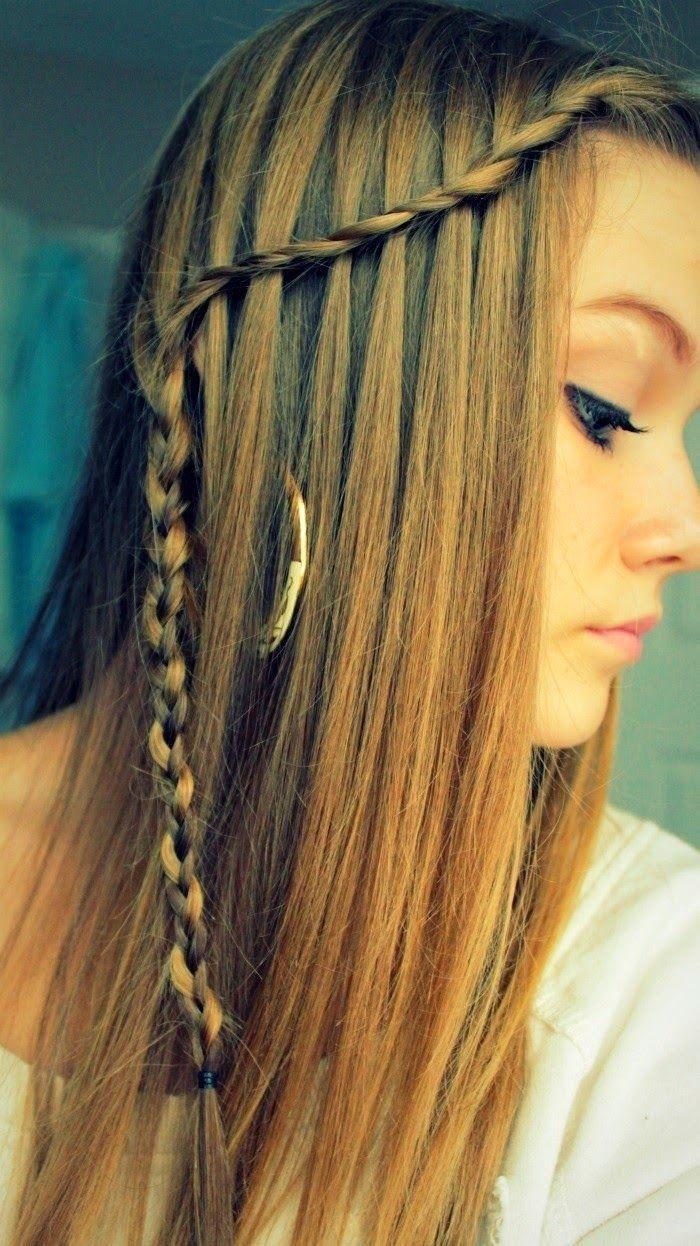 hairstyle ideas for long hair | frisuren, einfache