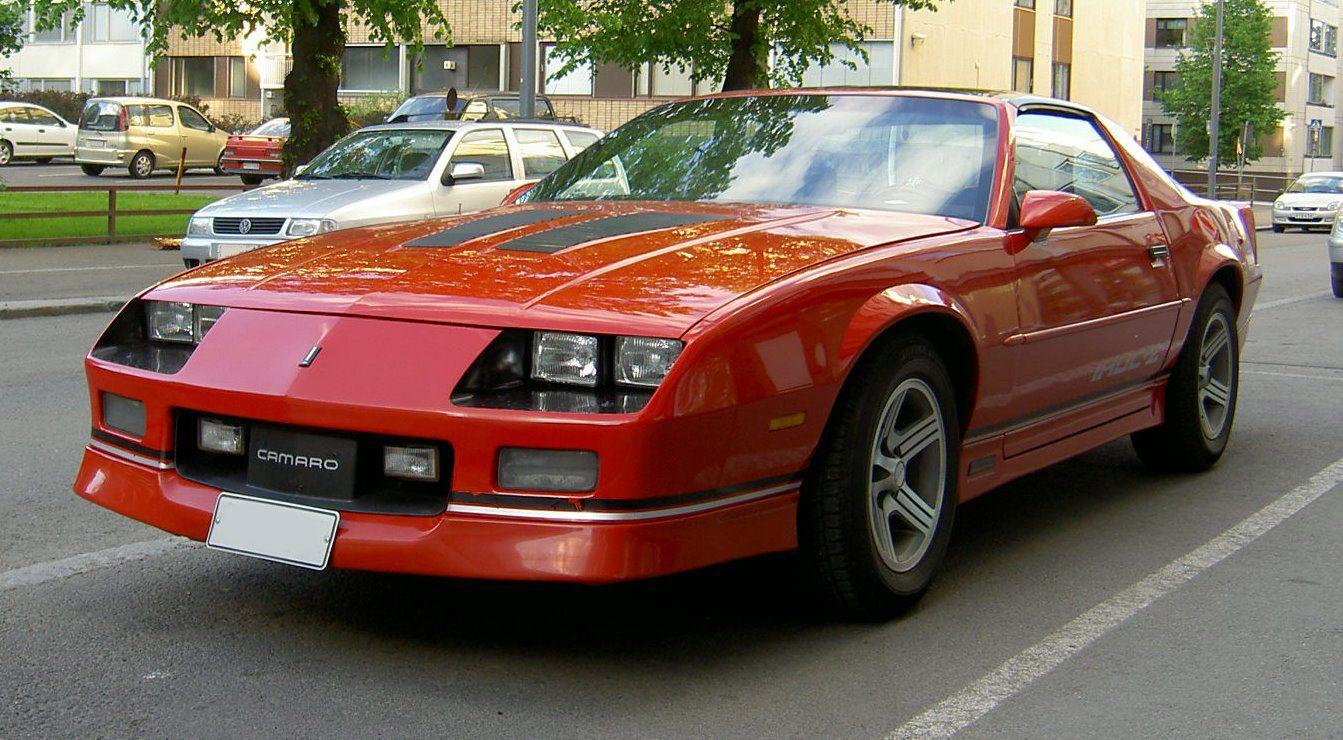 Camaro 1988 chevy camaro : Chevrolet Camaro (third generation) http://www.iroczcamaro.com ...