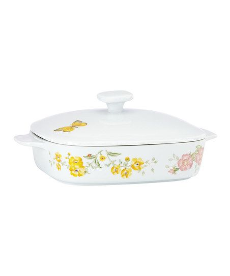 Lenox Butterfly Meadow Covered Casserole Dish | zulily$39.99