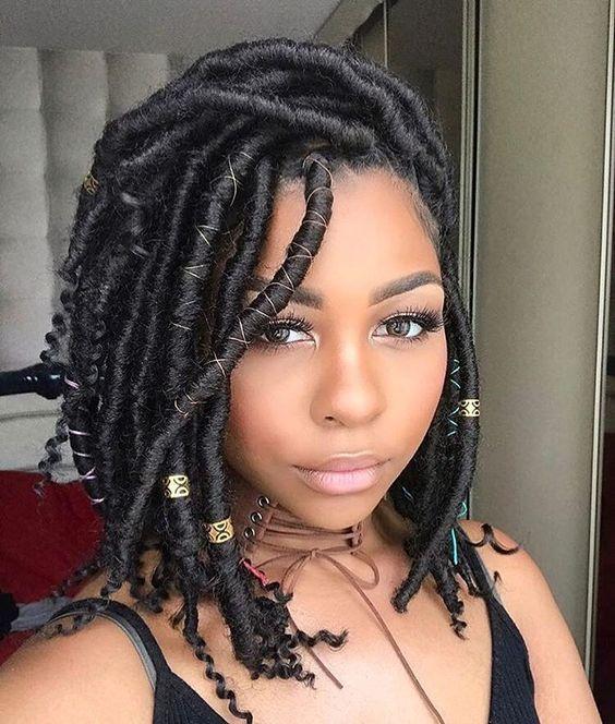 40 Goddess Locs Styles 40 Ways To Style Goddess Locs Faux Locs Hairstyles Natural Hair Styles Hair Styles
