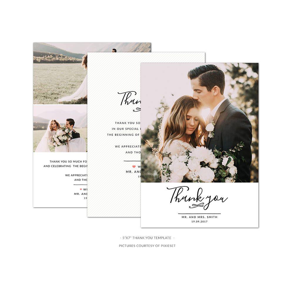 Printing Digital Photography Wedding Thank You Postcards