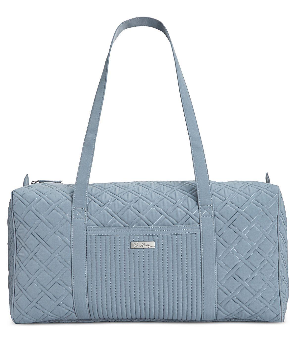 51e2b8685014 Vera Bradley Large Duffle Bag - Handbags   Accessories - Macy s ...