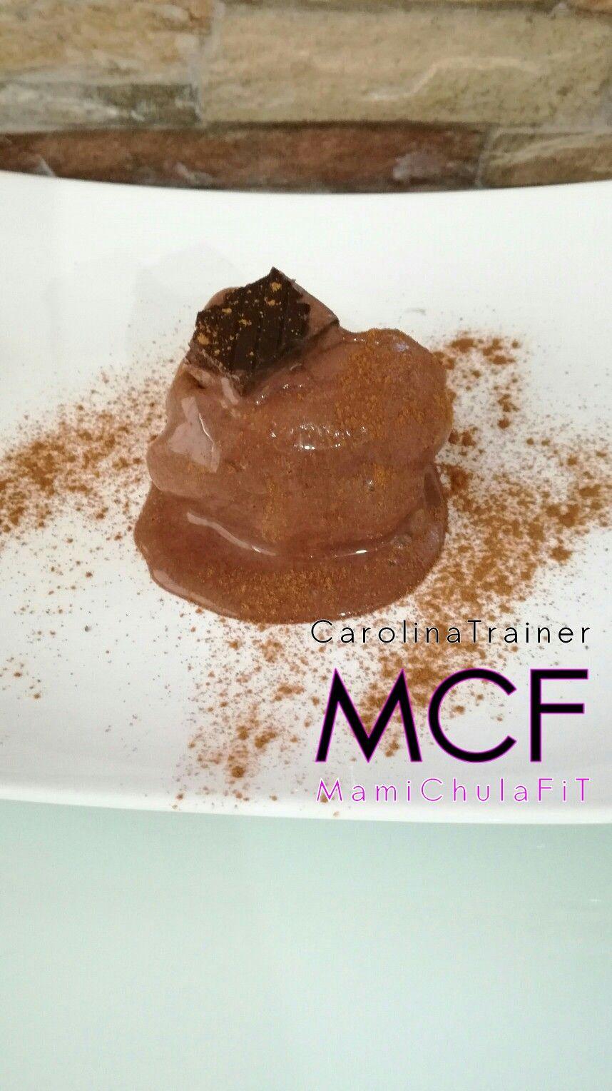 Helado De Chocolate Bajo En Calorias 1 Platano Congelado 1