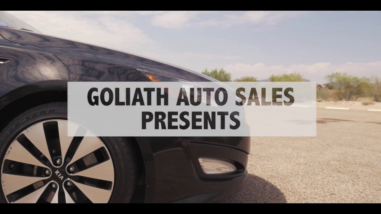 2012 Kia Optima At Goliath Auto Sales In Tucson Az Used Cars
