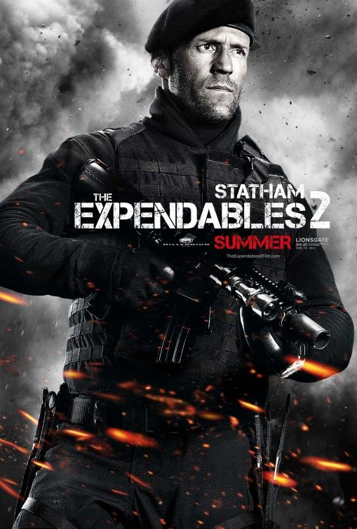 The Expendables 2 Movie Poster Sylvester Stallone Jason Statham Jet Li Dolph Lundgren Chuck Norris Expendables Movie Jason Statham Movies The Expendables