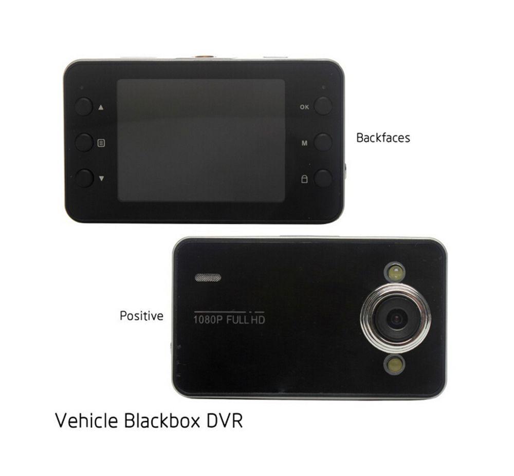 "2.4/"" LCD Full HD 1080P Car DVR Video Driving Recorder Camera Tachograph K6000"