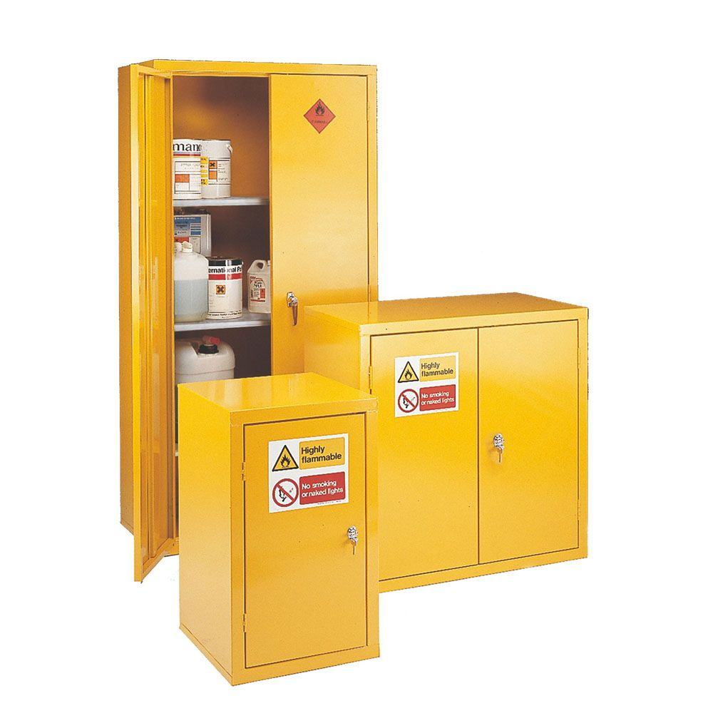 Heavy Duty Storage Cabinets   Highly Flammable Materials Storage: Designed  To Comply With Flammable Liquid