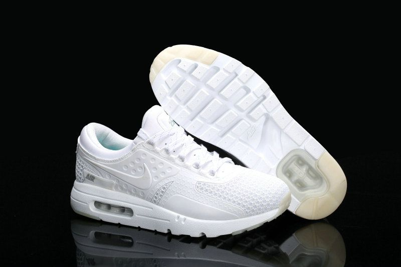 super popular 81d06 b436e Free Shipping Only 69  Nike Air Max Zero 87 Nanotechnology All White