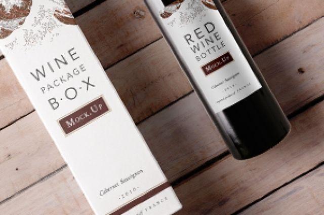 Download Psd Wine Box Mockup Vol2 Psd Mock Up Templates Wine Box Wine Packaging Wine