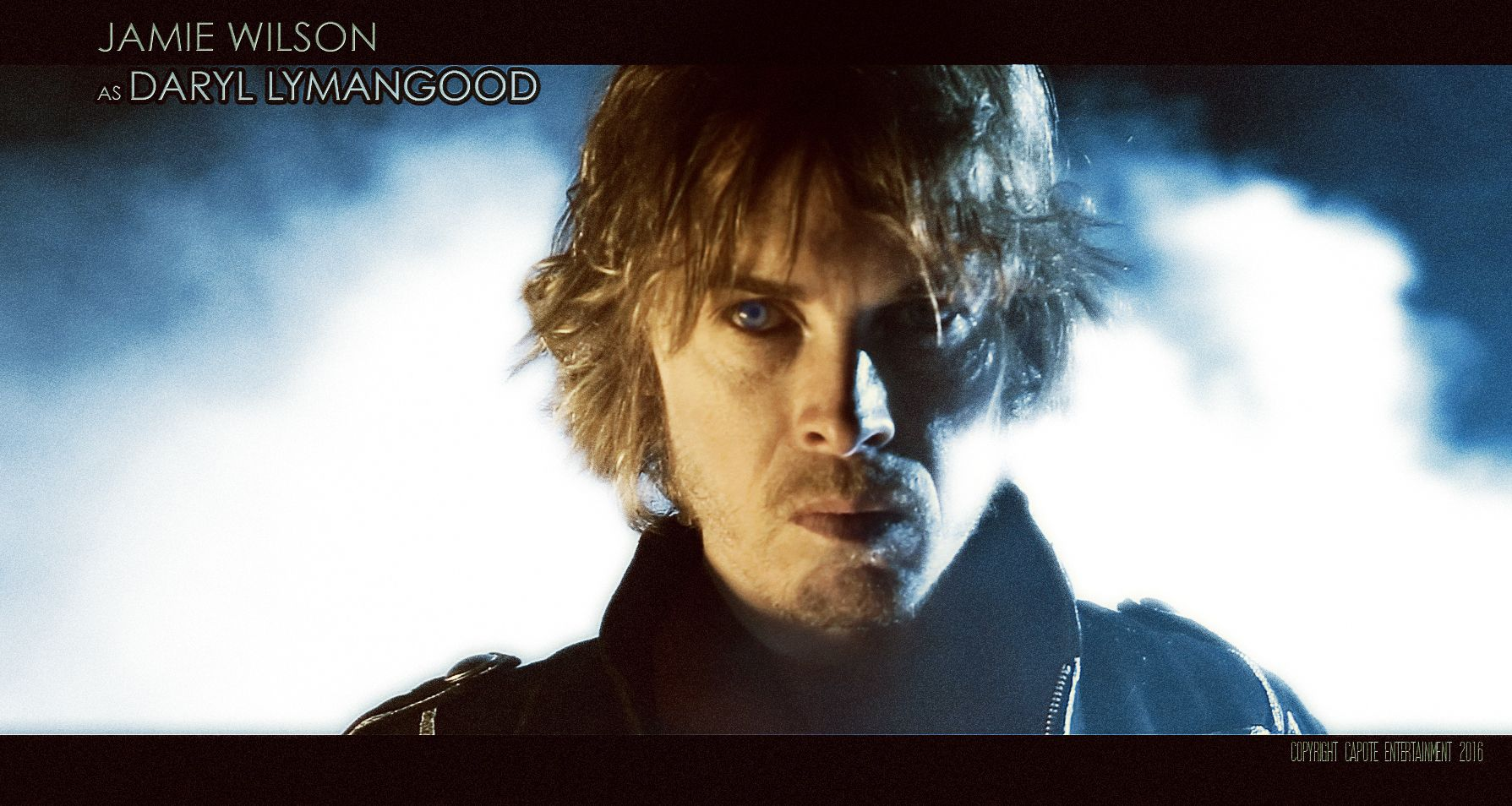 Jamie Wilson (Hellboy 2, Blade 2, Pan) as Daryl Lymangood in Renko, the horror feature film by director David De Bartolome.