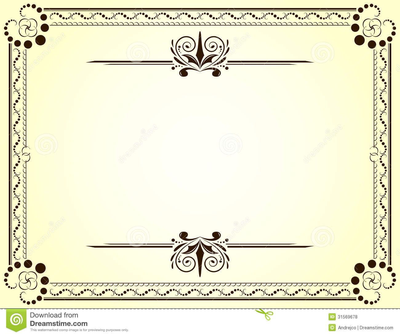 certificate template blue royalty stock images image 764449 certificate template blue royalty stock images image 764449 aaitc1ku