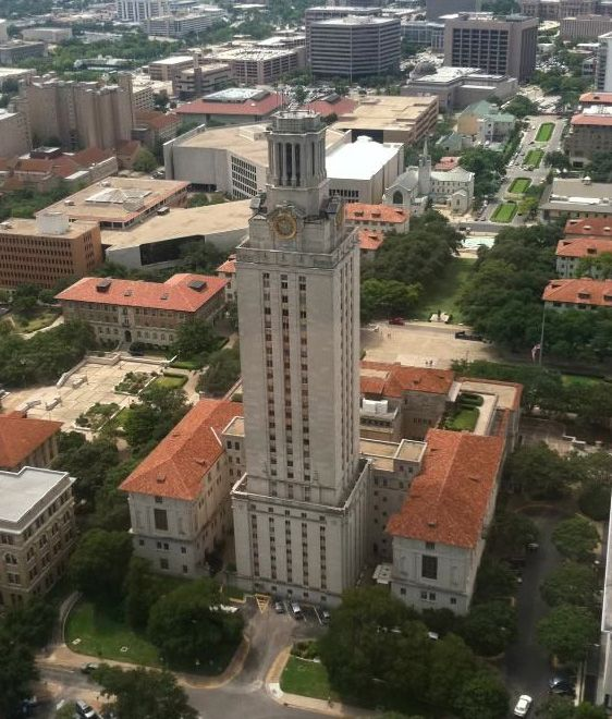 Aerial Photography Austin University of Texas