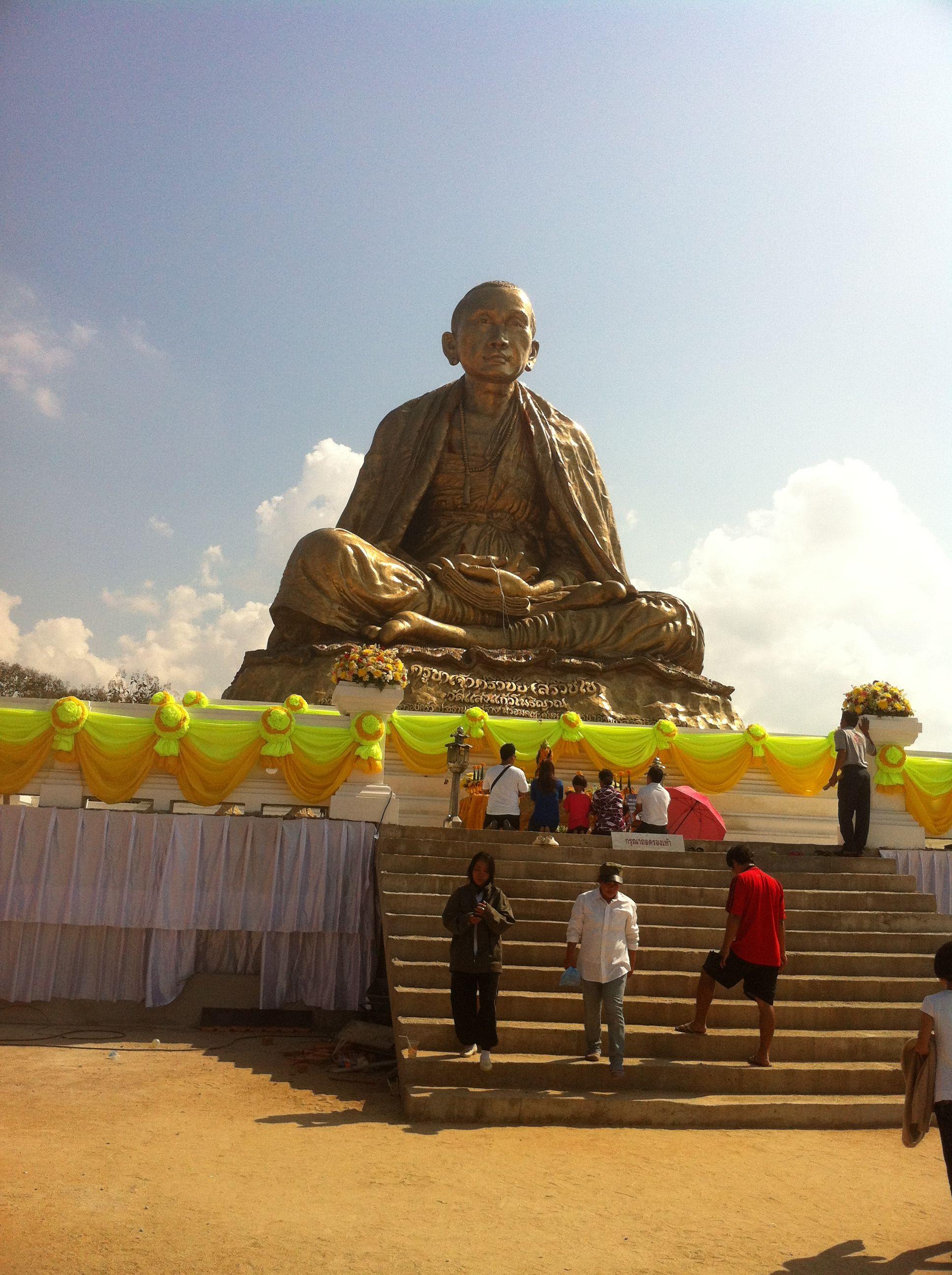 ครูบาศรีวิชัย @ วัดแสงแก้วโพธิญาณ, Chiang Rai