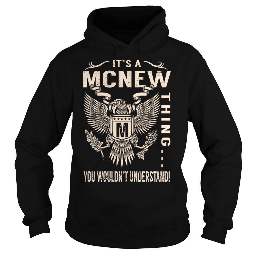 Its a MCNEW Thing You Wouldnt Understand - Last Name, Surname T-Shirt (Eagle)