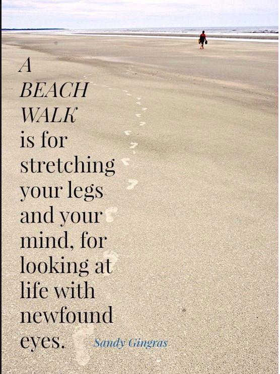 a beach walk the ocean fixes everything pinterest beach