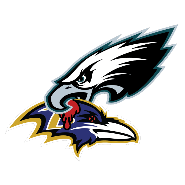 Philadelphia Eagles & Baltimore Ravens Philadelphia