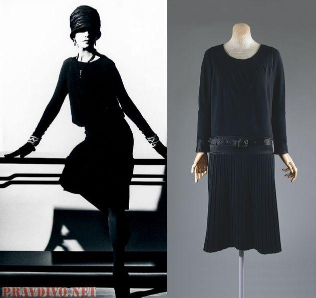 The Little Black Dress Chanel Vogue 1926